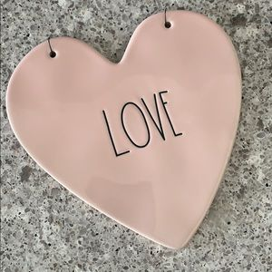 Rae Dunn Love Hanging Plaque